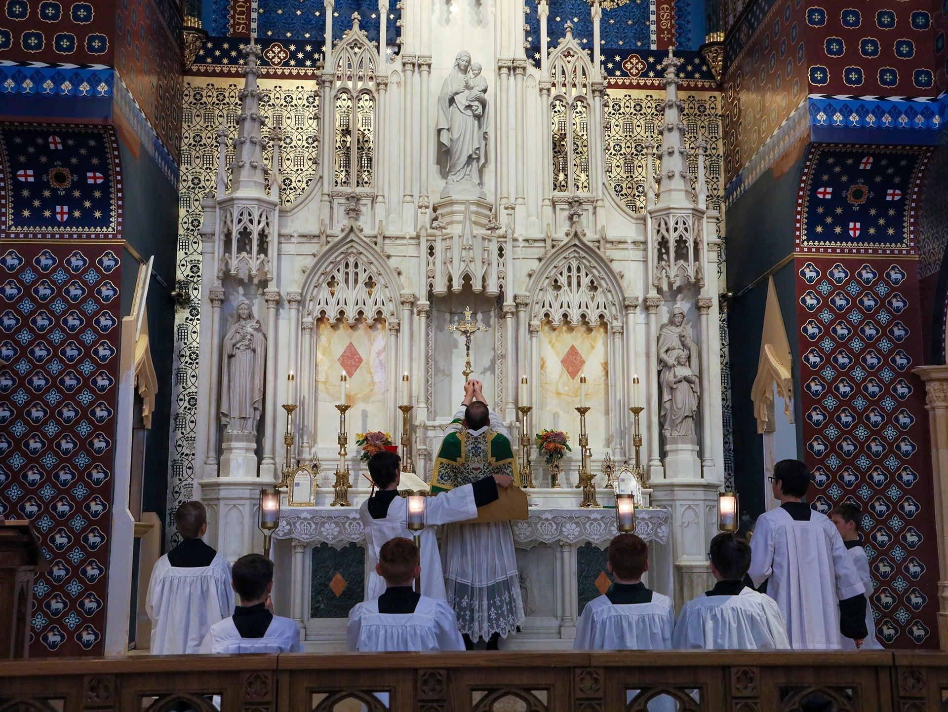 Altar Boys at Mass